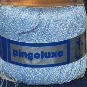 Pingouin - Elegant Nacre Yarn - Light Blue - 1 Ske